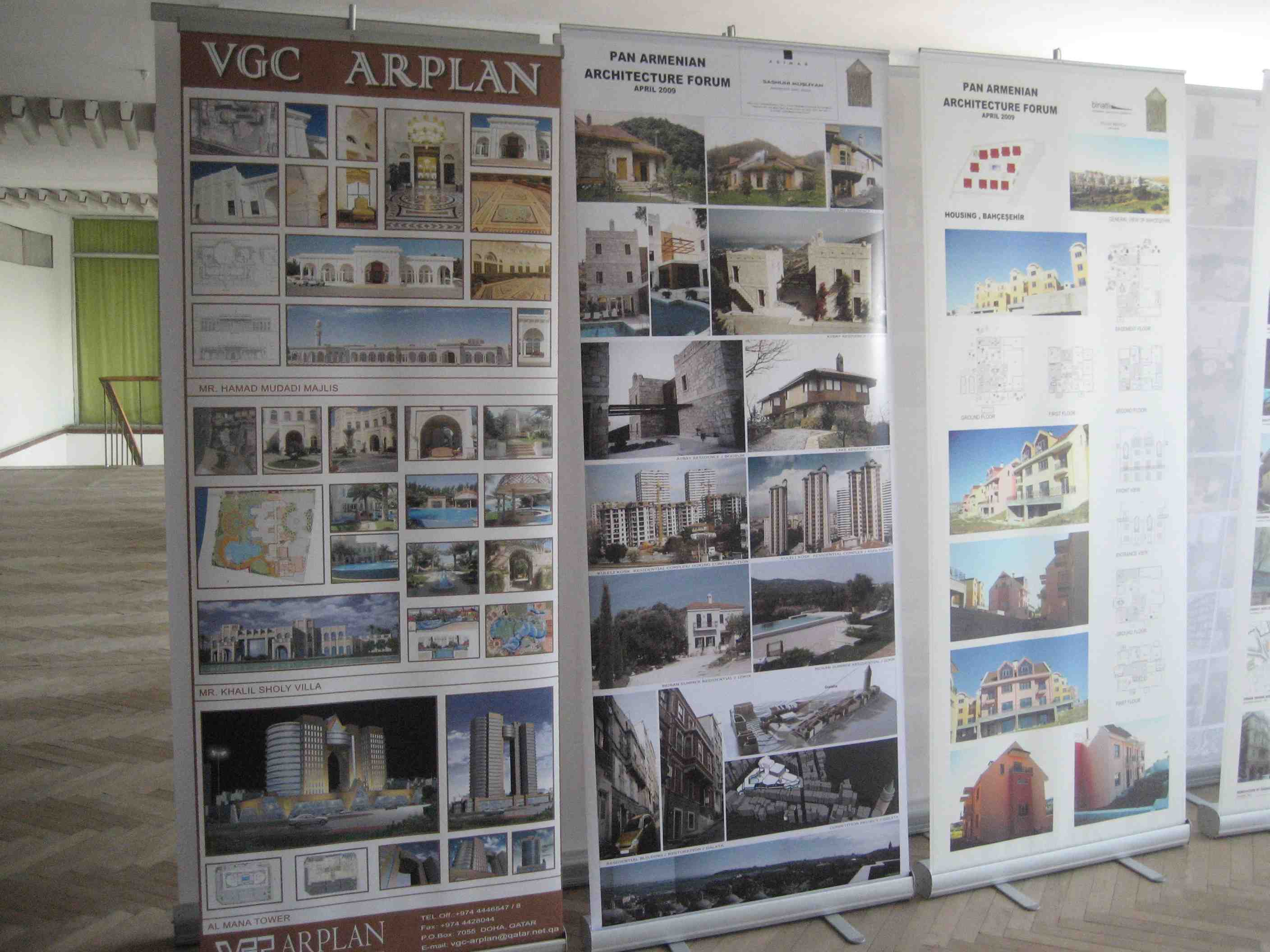 Pan Armenian Architectural Displays