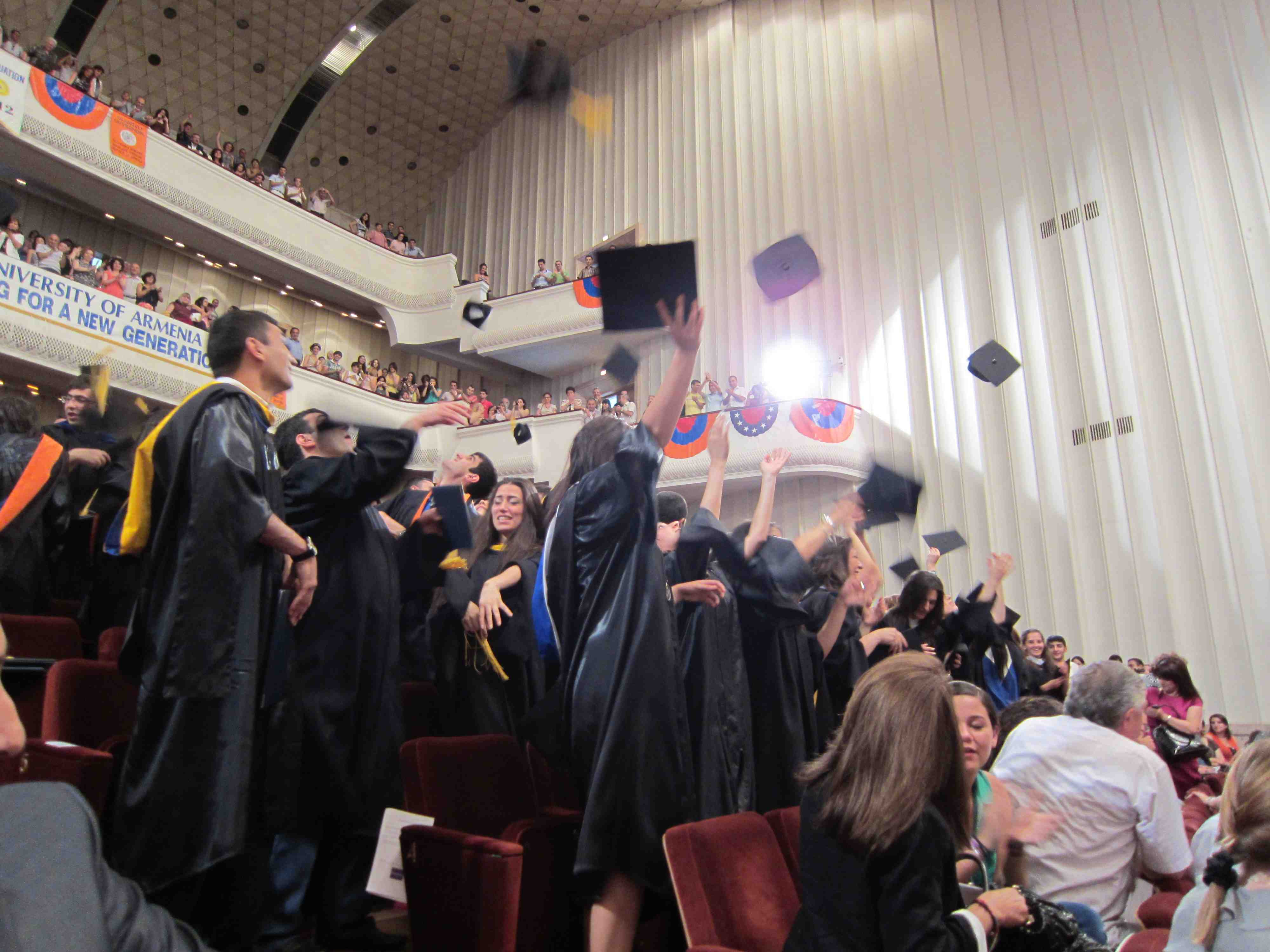 20th AUA Graduation